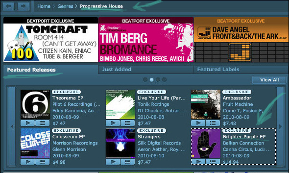 Xplore : Brighter Purple EP gets featured release on Beatport!